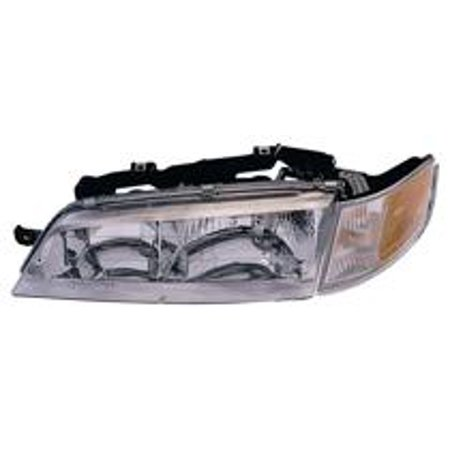 Go-Parts OE Replacement for 1994 - 1997 Honda Accord Front Headlight Assembly Housing / Lens / Cover - Left (Driver) + complete assembly 33150-SV4-A02 HO2502106 Replacement For Honda Accord 1997 Honda Accord Abs Light