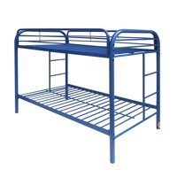 Acme Eclipse Twin Over Twin Metal Bunk Bed,Blue