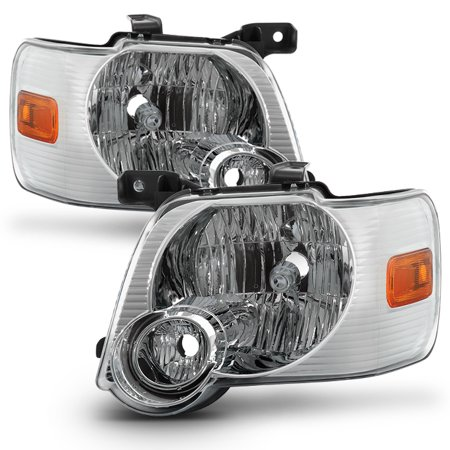 Fit 2006-2010 Ford Explorer Headlights Lamps Replacement 06 07 08 09 10 L+R