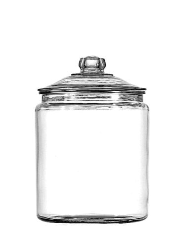 Anchor Hocking Glass Heritage Jar by Anchor Hocking Operating Co