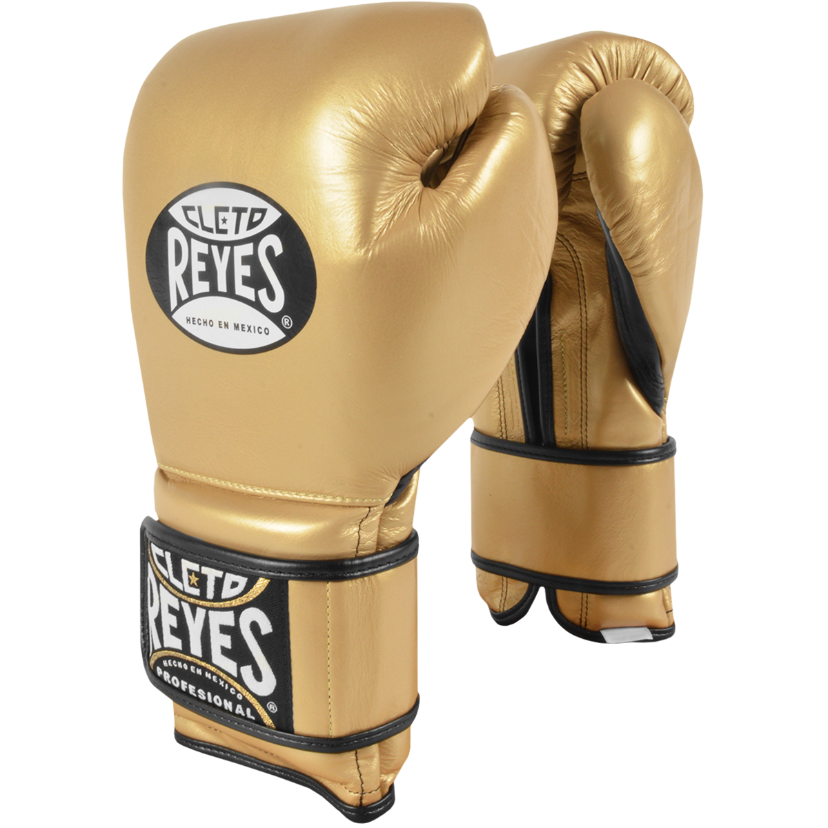 Cleto Reyes Hook and Loop Leather Training Boxing Gloves Red 16oz