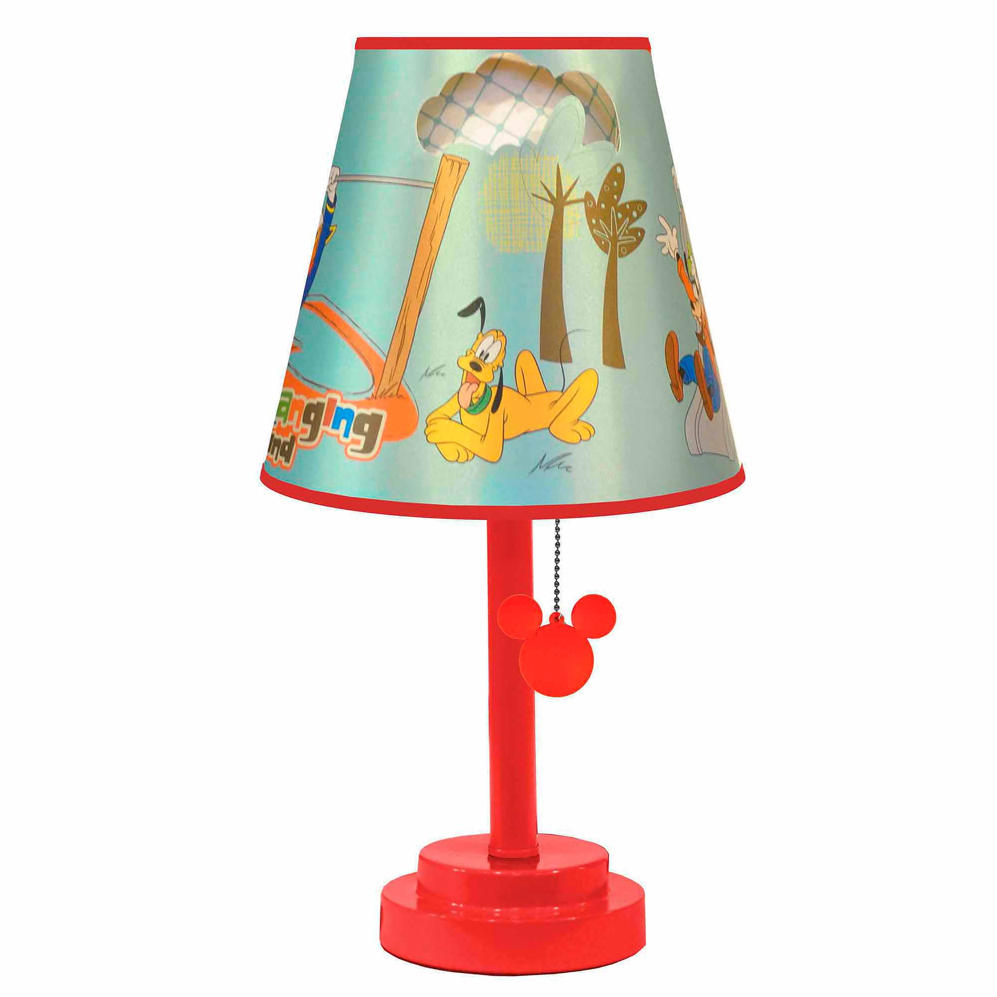 Disney Mickey Mouse Die Cut Table Lamp   Walmart.com