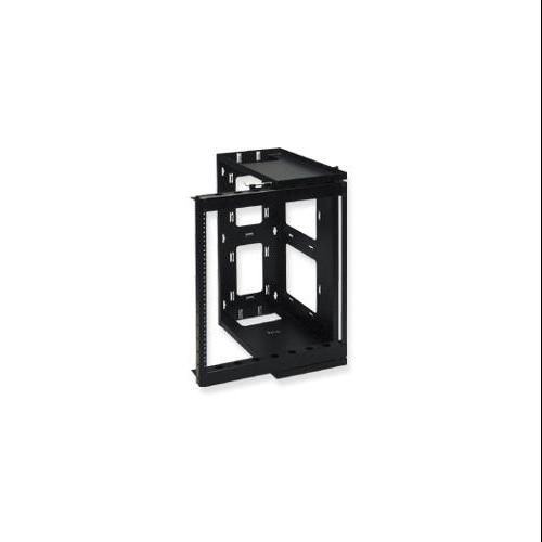 Icc Wall Mount Swing Gate Rack Frame - 12u Wide Wall Mountable - Black (iccmssgr21)