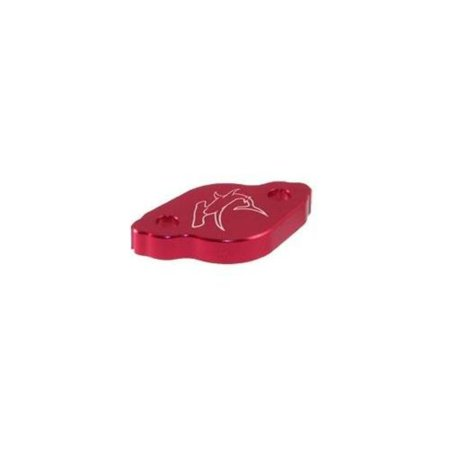 Hammerhead Designs 36-0221-00-10 Rear Brake Master Cylinder Cover - Red