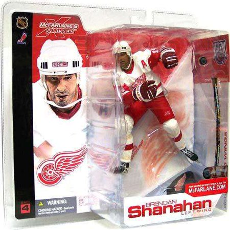 Brendan Shanahan Action Figure White Jersey Sports Picks Series 4 Nhl