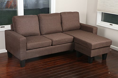 Home Life 2 Person Love Seat Contemporary Pocket Coil Hardwood Sofa 280 61u0027  Wide