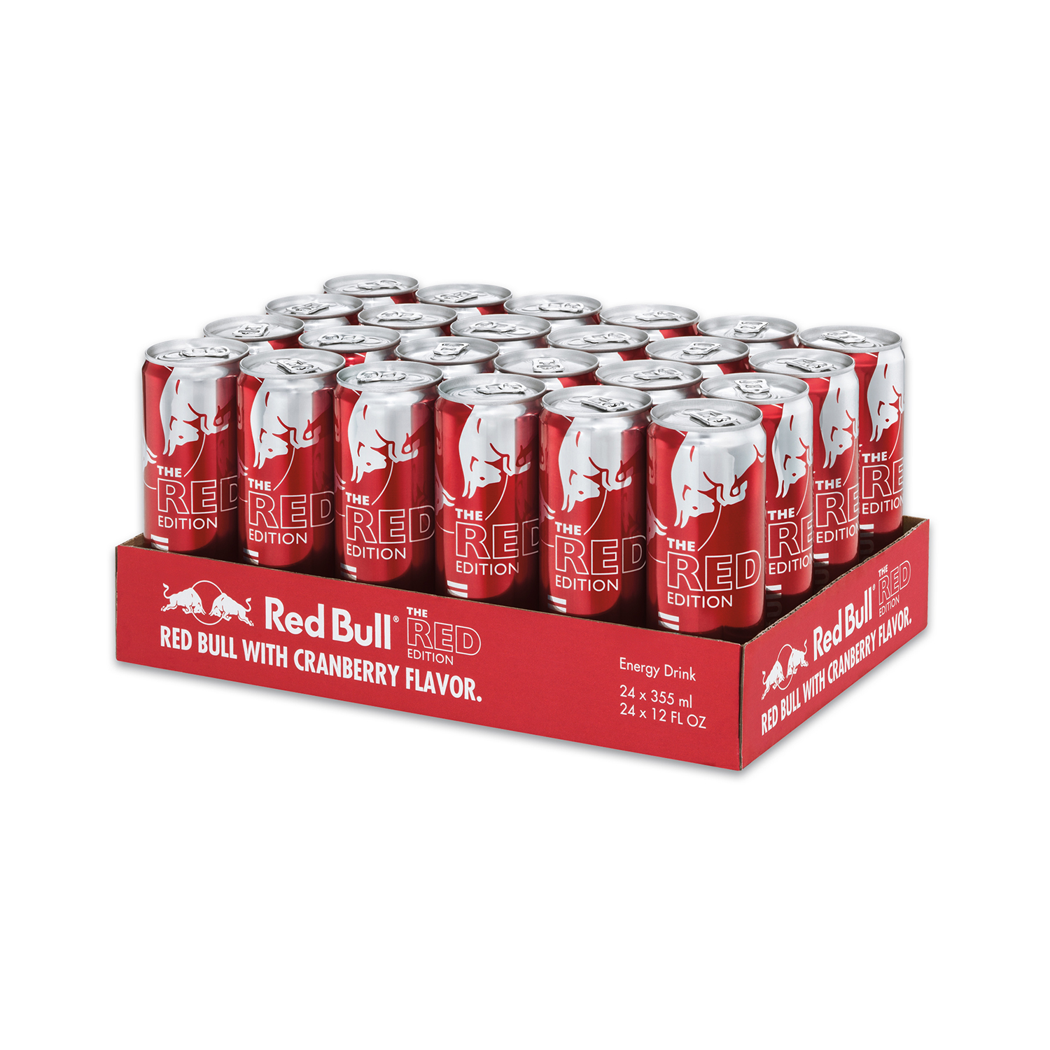 Red Bull 24-Pack 12oz Red Edition Energy Drink