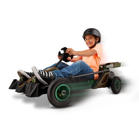 Mossy Oak Go-Kart, 24-Volt Ride-On Toy by Kid Trax, Age 8+, rechargeable outside (Go Karts For 12 Year Olds For Sale)