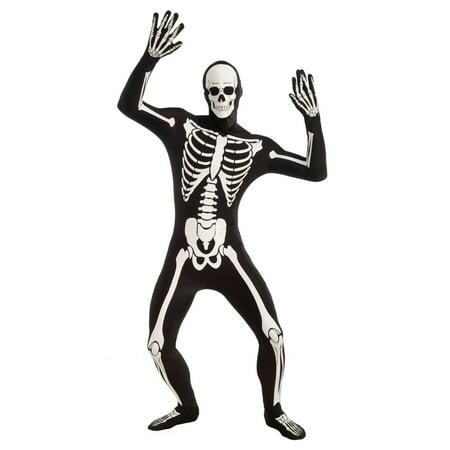 Halloween Disappearing Man Skeleton Adult Costume
