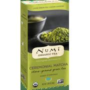Numi Organic Tea, Ceremonial Matcha, Powdered Loose Tea, 12 Svg.