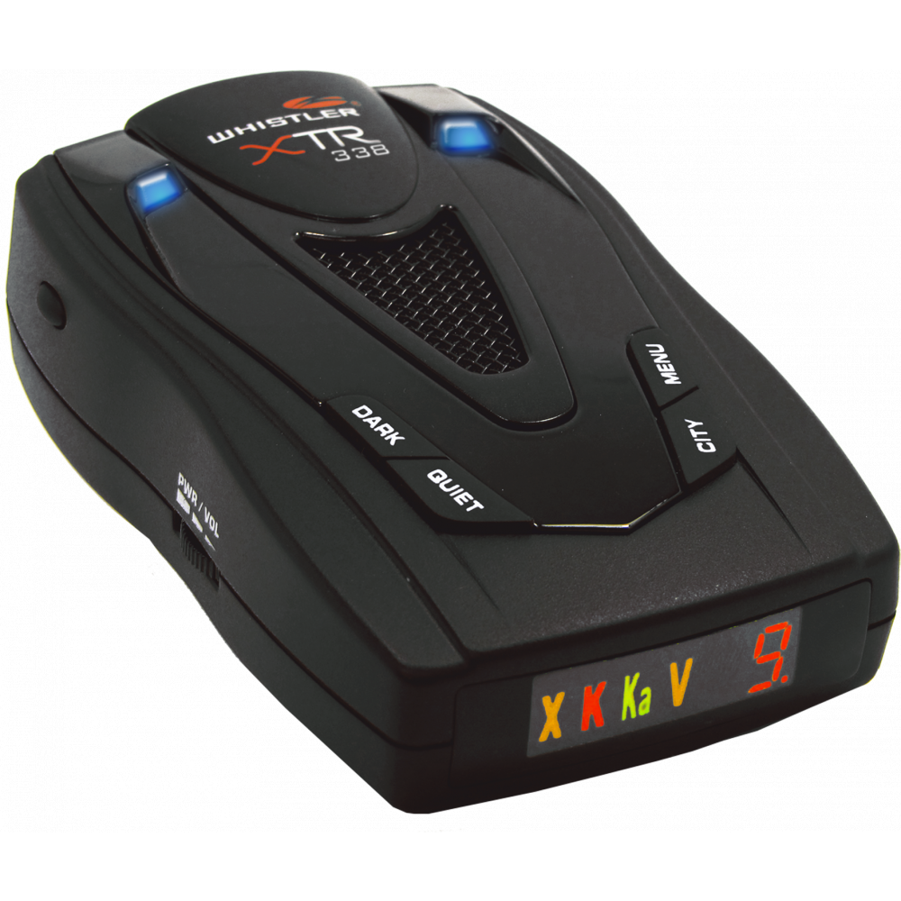 Buy Whistler Radar Detector with Real Voice Alerts by Whistler