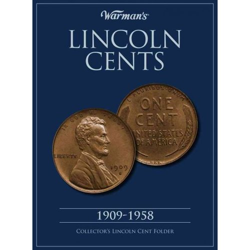 Lincoln Cents 1909-1958: Collector's Lincoln Cent Folder