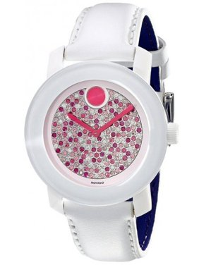 Movado Women's Bold Mid-Sized Pave 36mm Quartz Watches