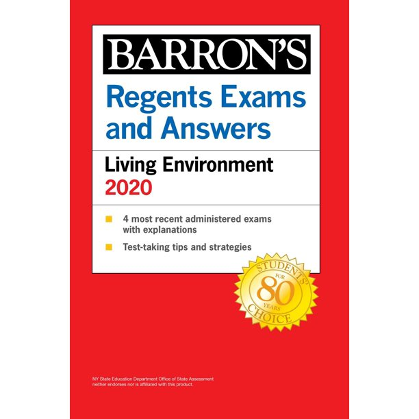 Regents Exams and Answers: Living Environment 2020 - eBook ...