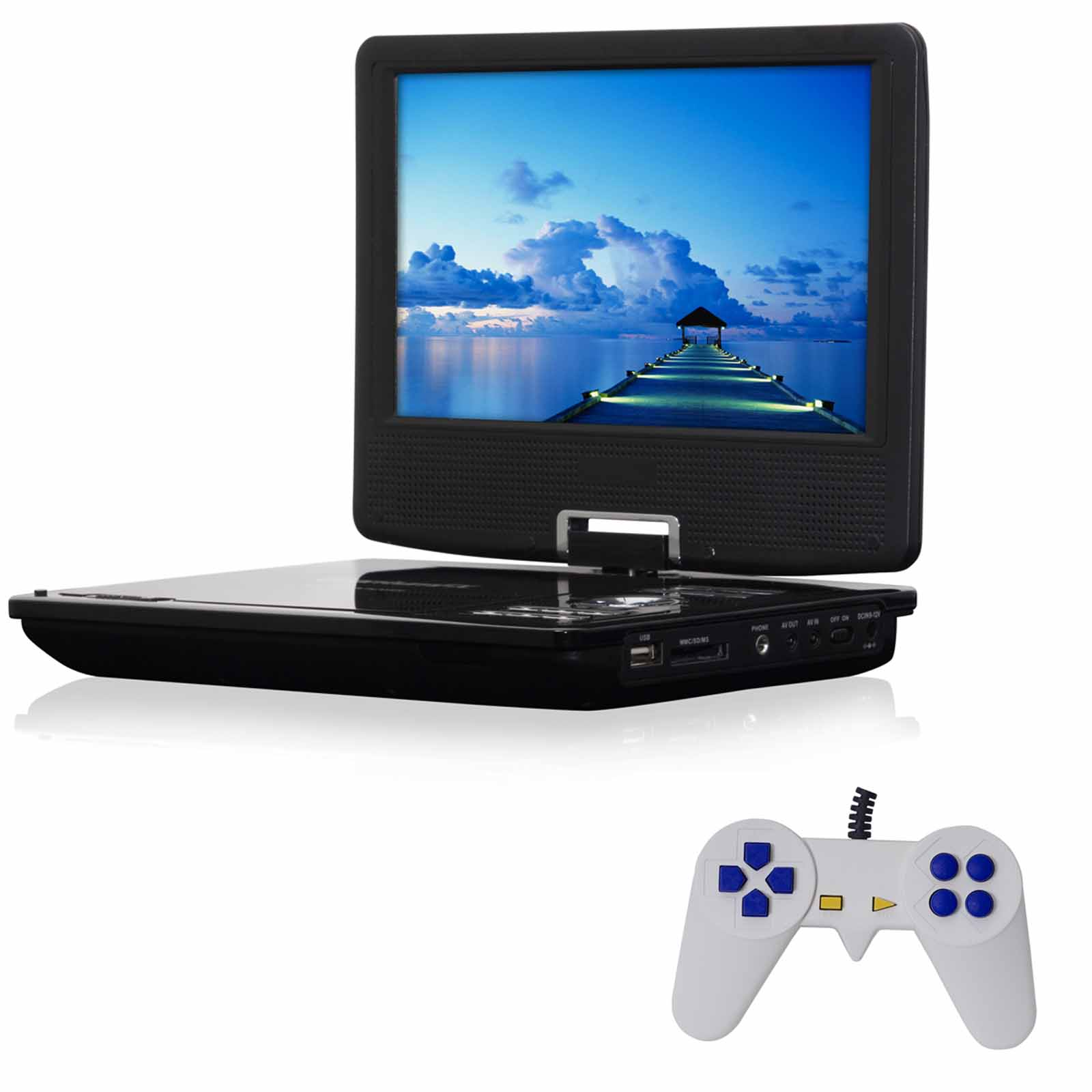 "QFX 9"" Multimedia Player with Game Function"