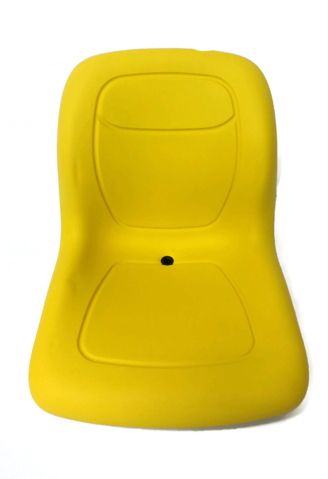 New Yellow HIGH BACK SEAT w  Slide Track Kit for Case Loader Backhoe Made USA by The ROP Shop by