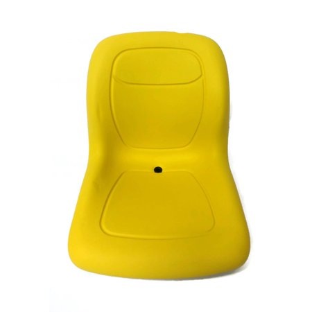Track Fork Kit - New Yellow HIGH BACK SEAT w/ Slide Track Kit for Case Forklift Fork Lift Truck by The ROP Shop