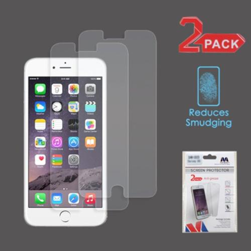 iPhone 6s Plus / 6 Plus 2-Pack Matte Anti-Glare Screen Protector Guard by Insten