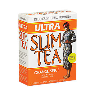 Ultra Slim Tea Orange Spice - 24 Tea Bags (1.69 oz / 48 Grams) by Hobe Labs