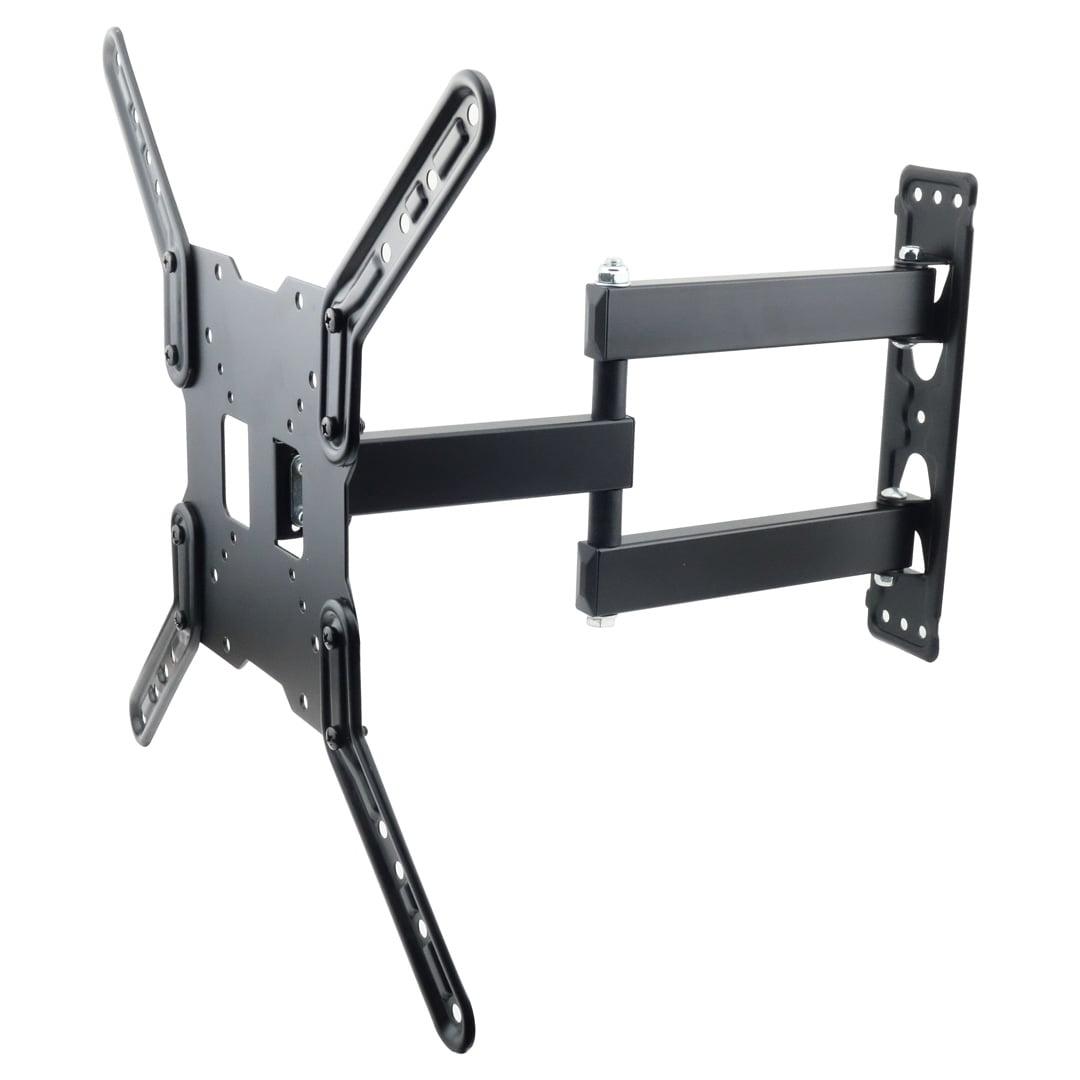 TV Wall Mount Articulating Bracket LED LCD Swivel Tilt 32 37 39 40 46 48 50 55
