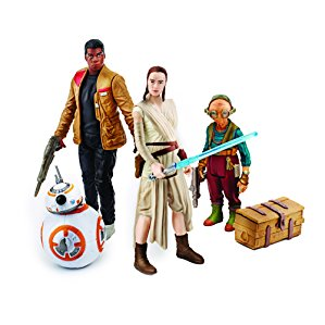Star Wars: The Force Awakens Takadona Encounter Action Figure 4-Pack (Rey, Finn, Maz Kanata, and BB-8)