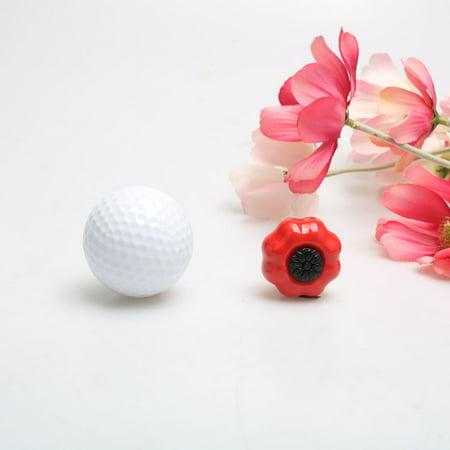 Ceramic Knobs Drawer Pumpkin Pull Handle for Cupboard Wardrobe Dresser Door Red - image 2 of 8