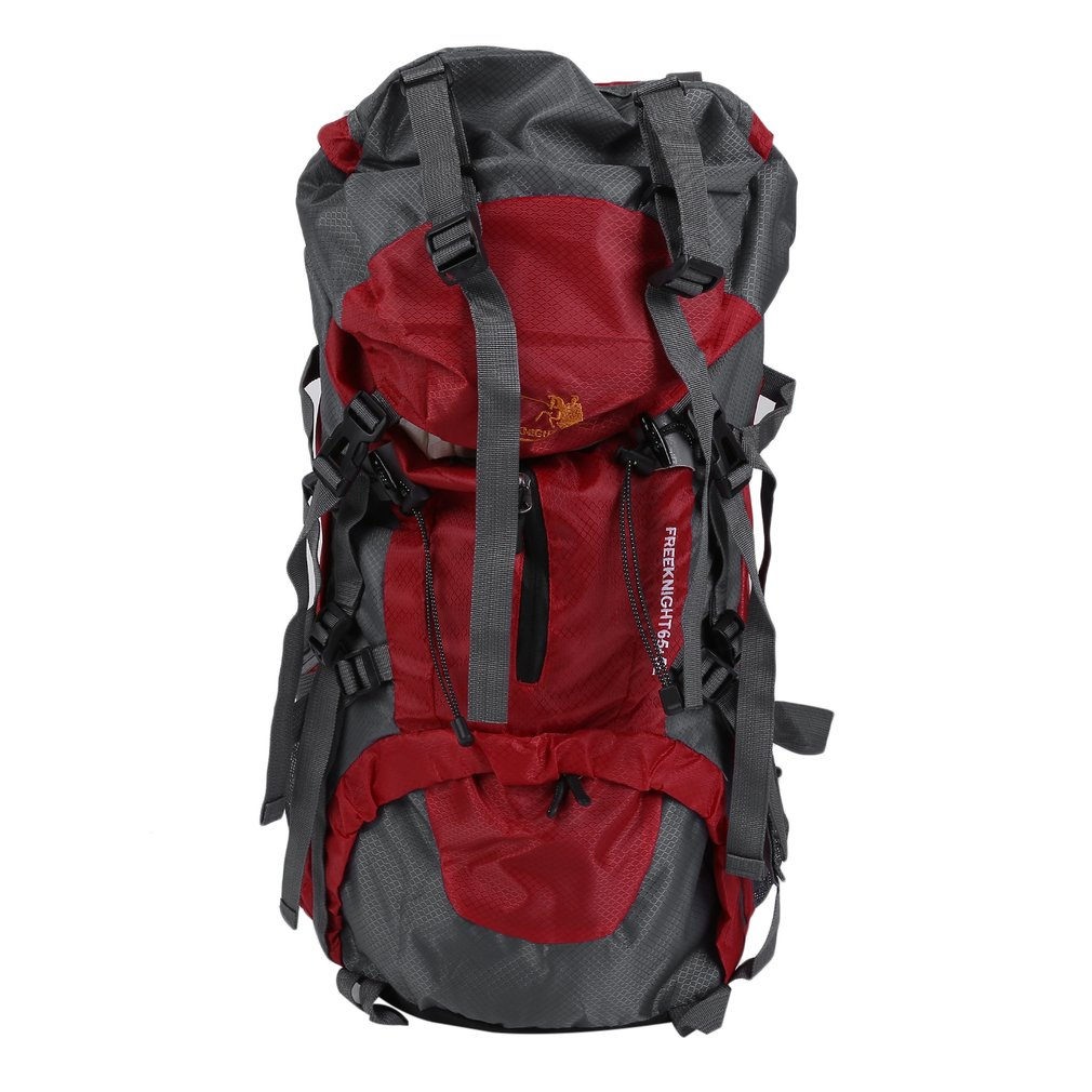 70L Hiking Camping Bag Travel Waterproof Mountaineering Pack Outdoor Backpack by