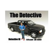 American Diorama 23893 The Detective No.3 Figure for 1-18 Scale Models