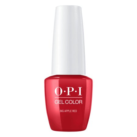 OPI GelColor Soak-Off Gel Lacquer Nail Polish, Big Apple Red, .25 -