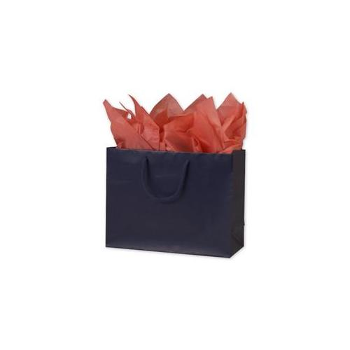 Bags & Bows by Deluxe 244M-130510-3 Navy Matte Laminated Euro-Shoppers - Case of 100