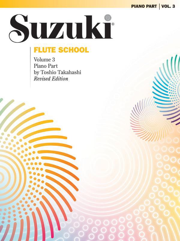 Suzuki Flute School, Volume 3 : Piano Part by