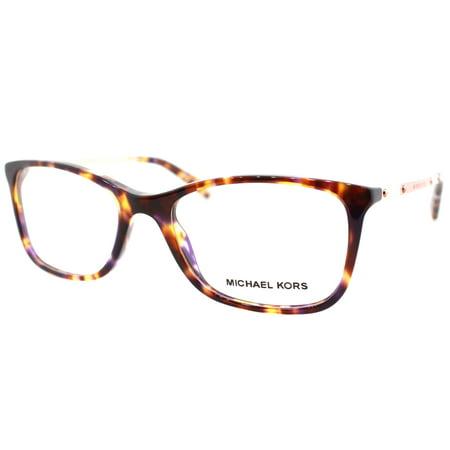 7408c232314c Michael Kors MK4016 3032 53mm Women's Square Eyeglasses - Walmart.com