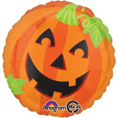 Anagram Halloween Jack-O-Lantern Helium Saver 28