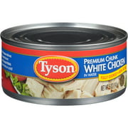 Tyson Premium White Chunk Chicken Breast In Water, 5 oz