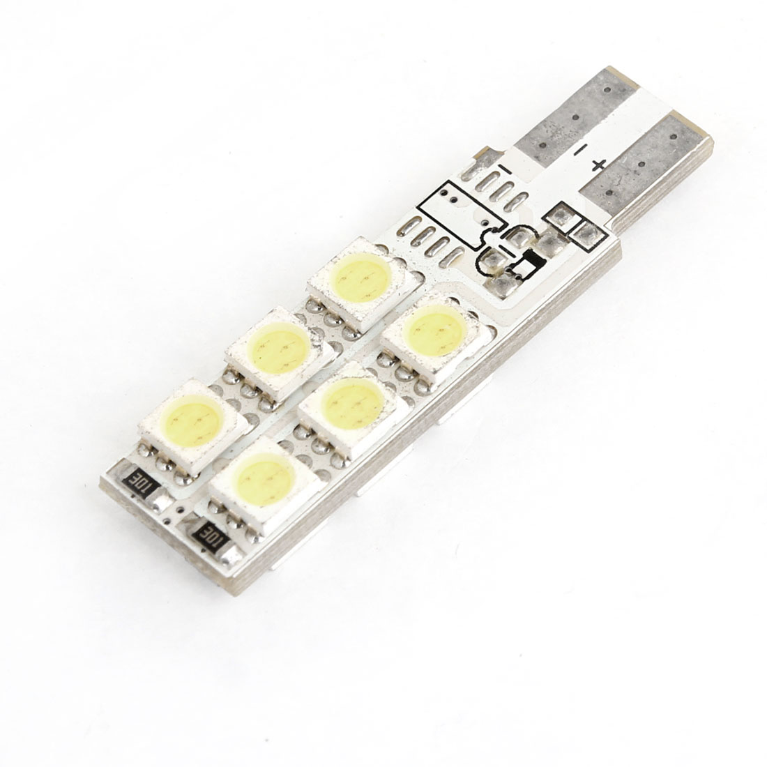 5050 SMD 12  T10 194 W5W Map Canbus No Error Light Lamp White