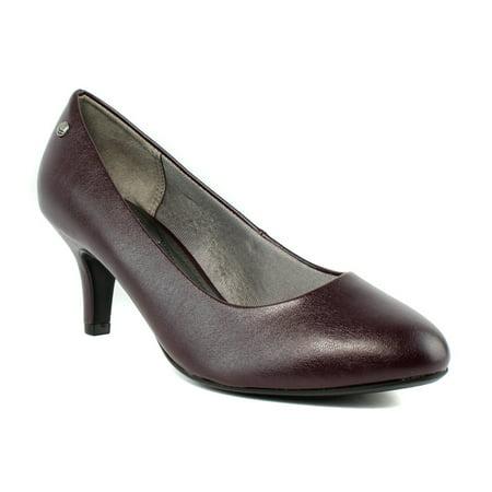 LifeStride Womens  Purple Pumps, Classic Heels Size 7 New - Purple Pimps