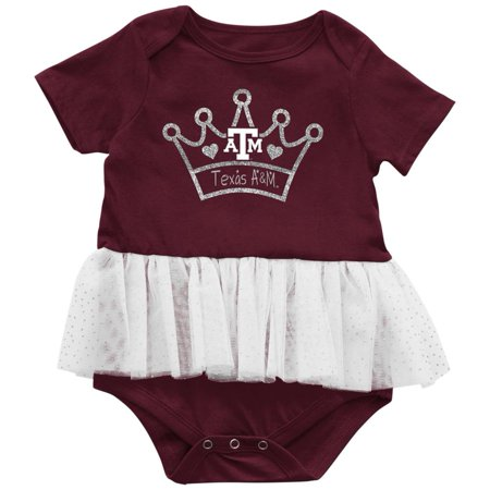 Texas A&M Aggies Infant Princess Tutu Bodysuit