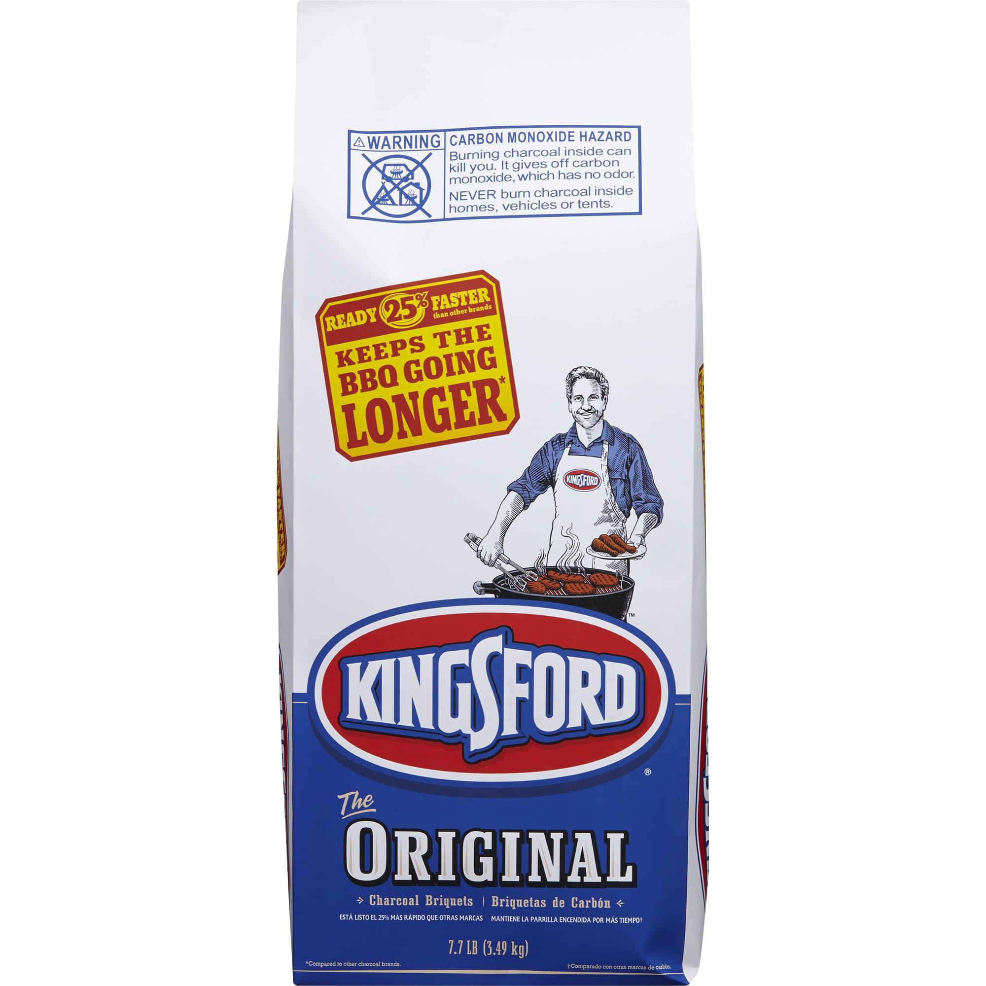 Kingsford Original Charcoal Briquettes, 7.7 lb bag