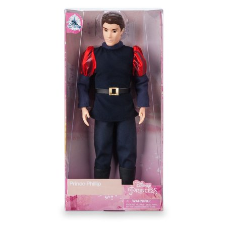 Disney 60th Sleeping Beauty Prince Phillip Classic Doll New with
