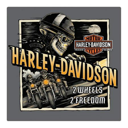 - Harley-Davidson Road Rage Skeleton Embossed Tin Sign, 14.5 x 14.5 inches 2011321, Harley Davidson