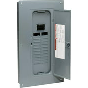 Square D by Schneider Electric HOM20M100C Homeline 100 Amp 20-Space 20-Circuit Indoor Main Breaker Load Center with Cover