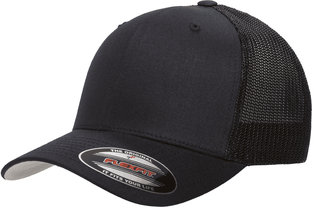 The Hat Pros Fitted Hat Mesh Cotton Twill Trucker Flexfit Cap 6511 (Brown)  - Walmart.com 5fe92274cfe