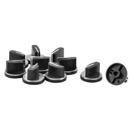 Metal Gas Stove Cooker Oven Accessories Range Control Rotary Switch Knob 10pcs