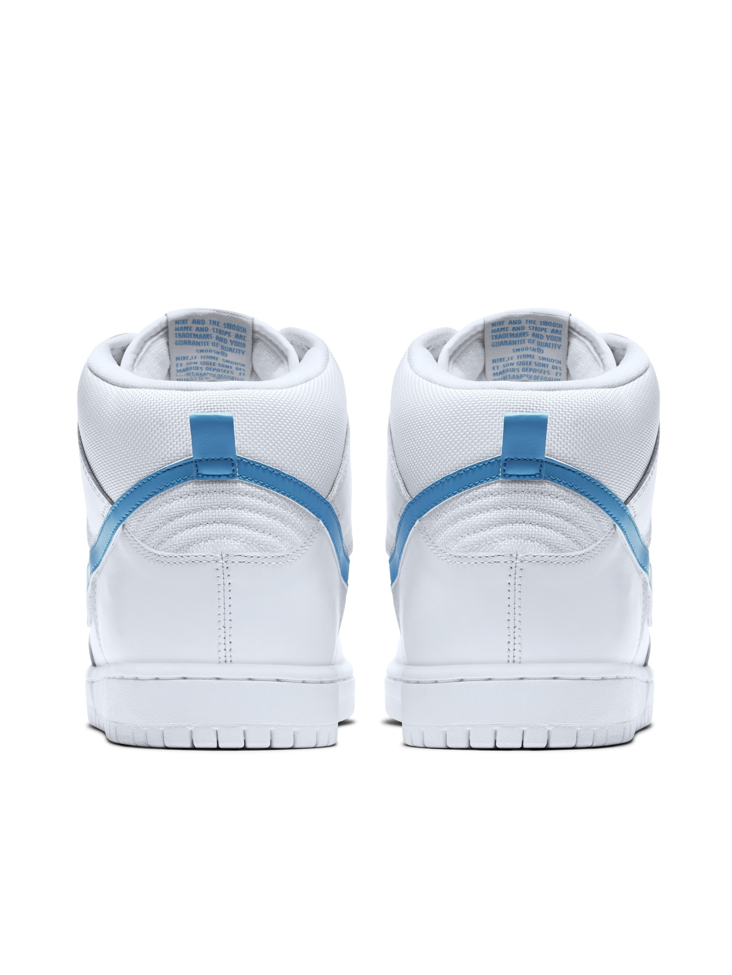 5d6ee0231e Nike - Mens Nike SB Dunk High TRD QS Richard Mulder White Orion Blue 881758-1  - Walmart.com