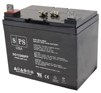 SPS Brand 12V 35Ah Replacement battery for  Golden Techno...