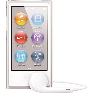 Apple iPod Nano 7th Generation 16GB Silver, Open Box (Discontinued Color), MKN22LL/A