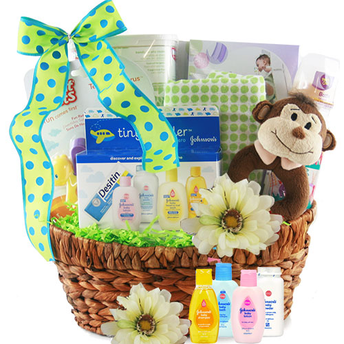 Welcome Baby - Baby Gift Basket