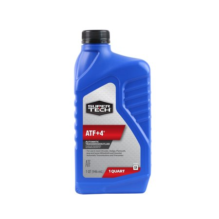 Super Tech ATF Plus 4 Automatic Transmission Fluid, 1 Quart (Super Smoke Fluid)