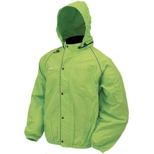 Frogg Toggs Road Toad Rain Jacket Lime Green
