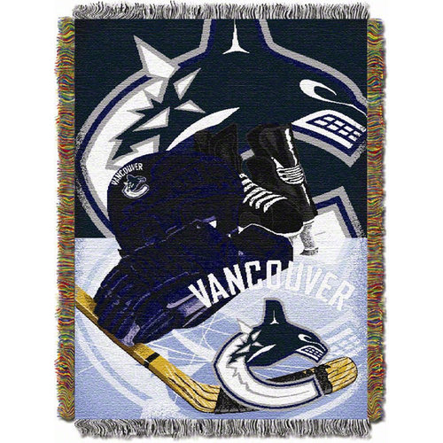 NHL - Vancouver Canucks 48x60 Home Ice Advantage Tapestry Throw